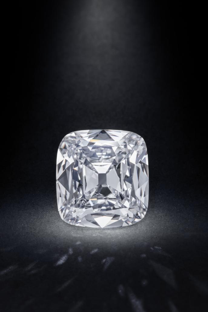 Diamond ring by Taffin, $387,500