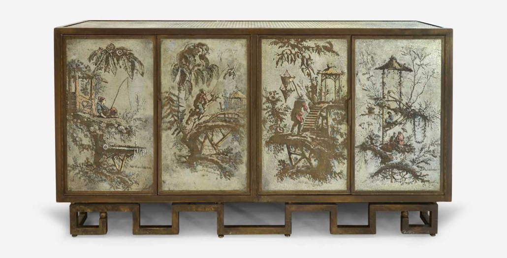 Philip and Kelvin LaVerne, Chan cabinet, $113,400