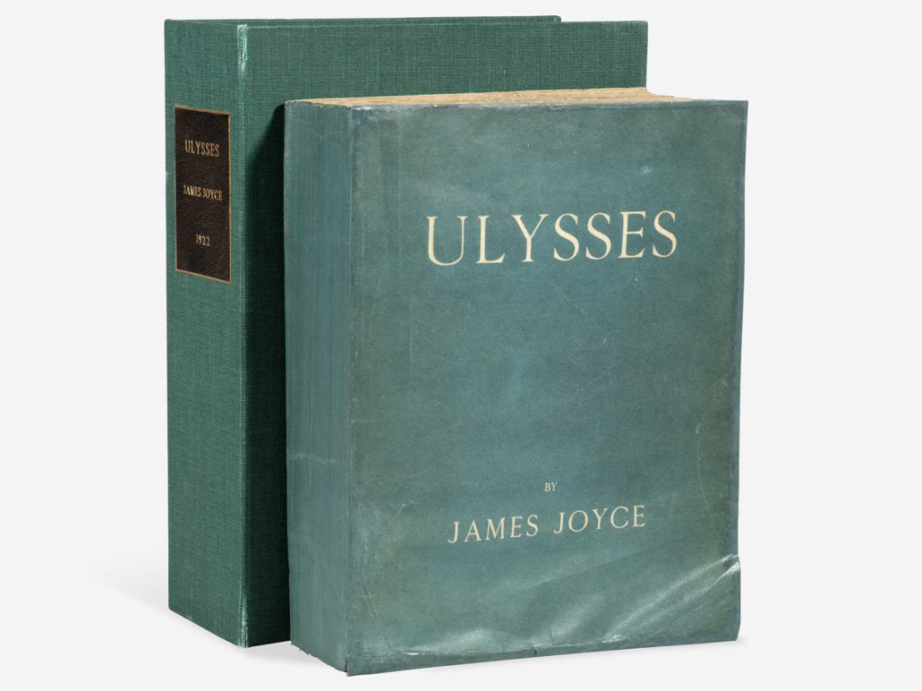 First and limited edition of James Joyce's Ulysses, $27,720