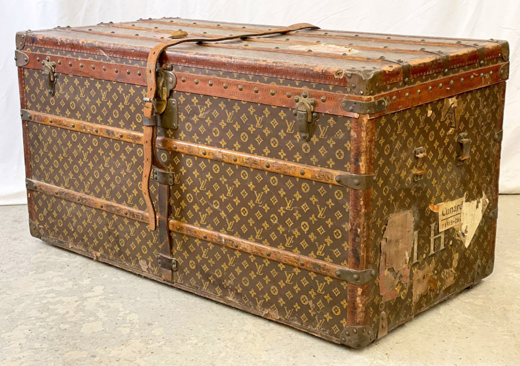 Early 20th century Louis Vuitton steamer trunk, $12,250