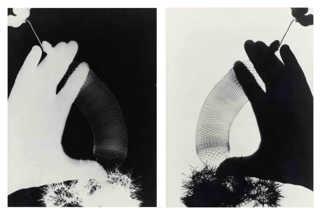 Man Ray, 'Hands (Rayograms),' est. $40,000-$60,000. Image courtesy of Bonhams
