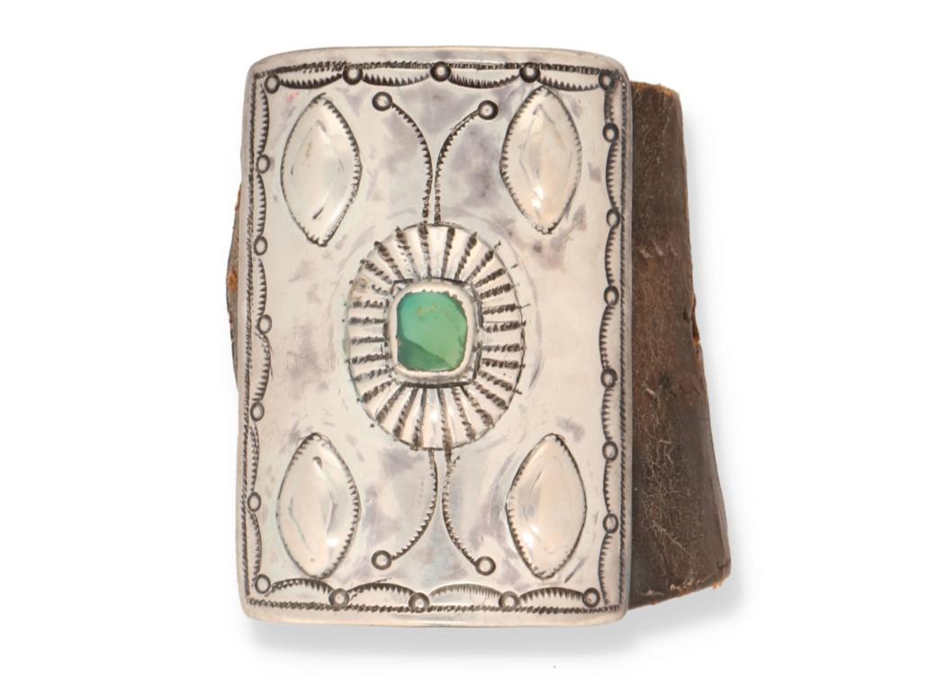 Navajo/Dine ketoh bow guard, $3,438