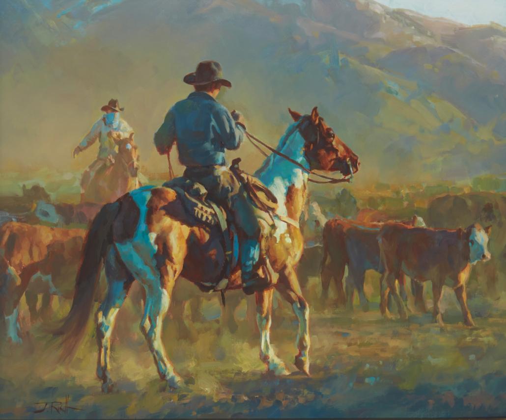 Jason Rich, 'Working Sun to Sun,' $12,500