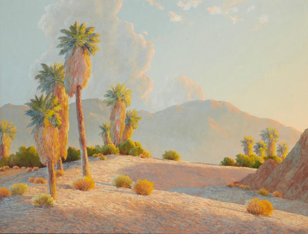 John William Hilton, 'Desert Hideaway,' $7,500