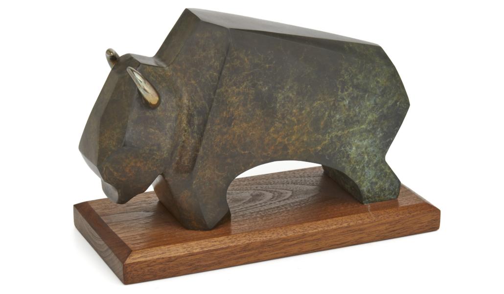 Robert Dale Tsosie, 'Buffalo,' $2,000