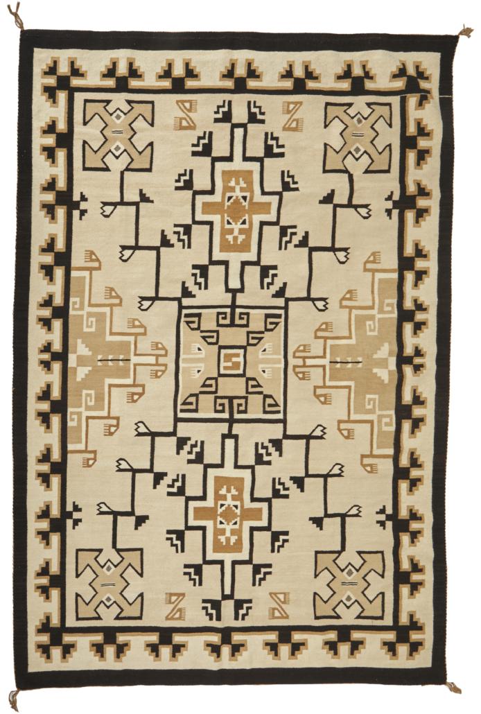 Teec Nos Pos Navajo/Dine rug, $3,125