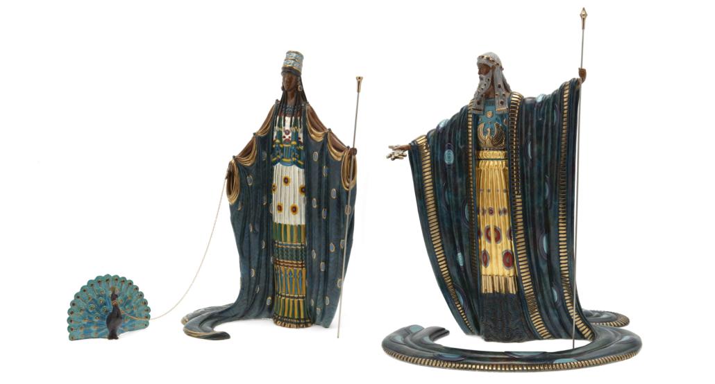 Romain (Erte) De Tirtoff, 'Hera and Zeus,' 1989, est. $3,000-$5,000