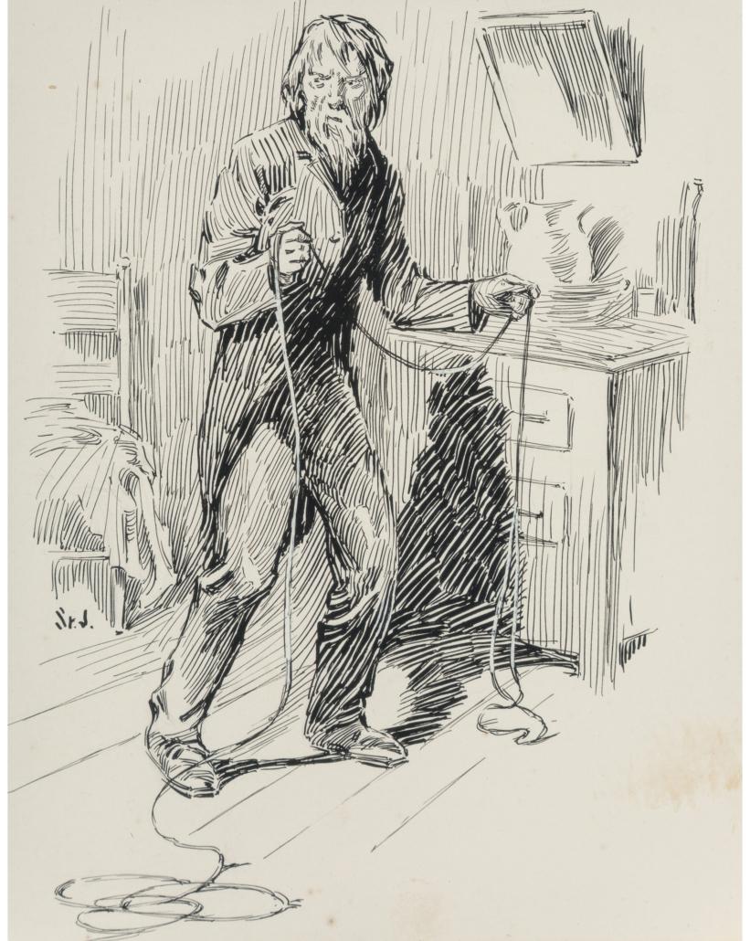 James Allen St. John illustration, Paulovich, for The Son of Tarzan, est. $1,000-$2,000