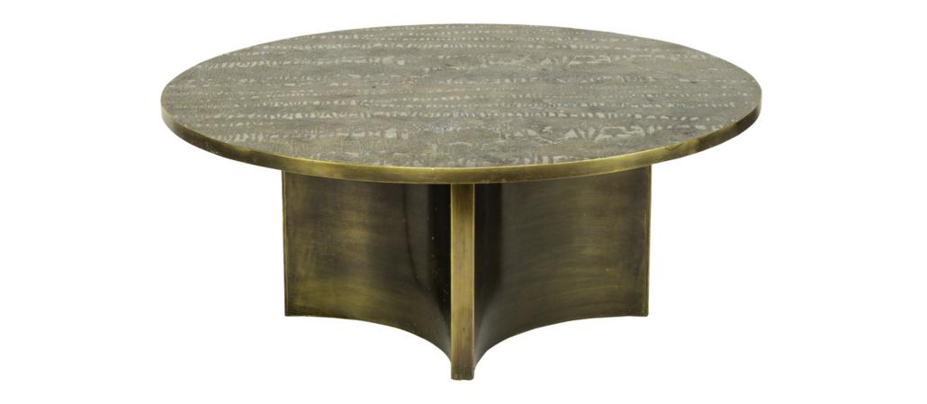 Philip and Kelvin LaVerne Eternal Forest table, est. $8,000-$12,000