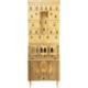 Illuminated Architettura bar-cabinet by Piero Fornasetti and Gio Ponti, est. $50,000-$70,000