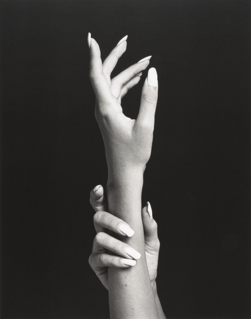 Robert Mapplethorpe (1946–1989), 'Hands,' 1981, gelatin silver print, Amon Carter Museum of American Art, Fort Worth, Texas, Bequest of Finis Welch, © Robert Mapplethorpe Foundation