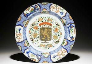 Chinese Export armorial porcelain still denotes prestige
