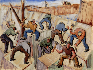 Chazen's exhibition 'Picturing a Nation' surveys 18th-20th C. American drawings