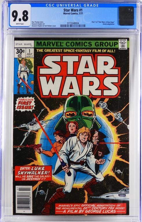 Marvel Comics' Star Wars #1, est. $3,000-$5,000