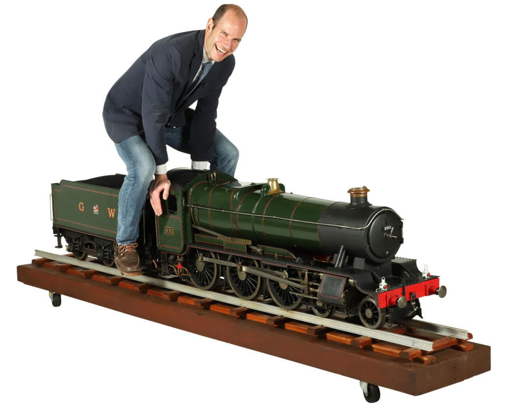 Model Great Western Railway 4-6-0 locomotive and tender No. 1011, CA$15,340