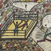 Muhammad Ali, 'Sting Like a Bee,' est. $40,000-$60,000. Image courtesy of Bonhams