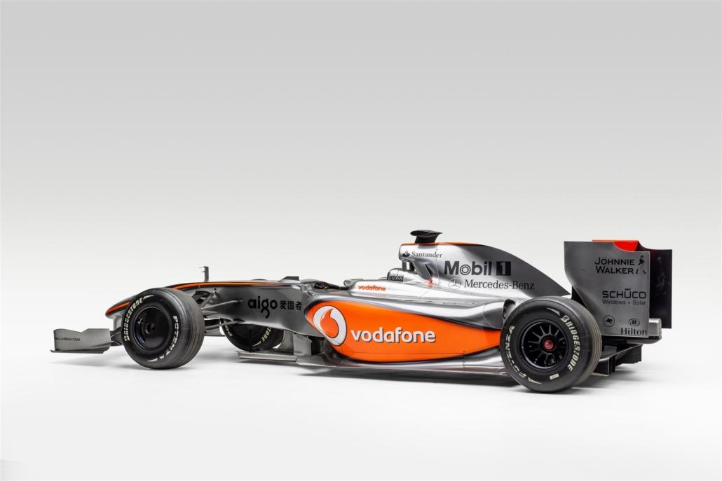 F1 McLaren driven by Lewis Hamilton. Photo Credit: Petersen Automotive Museum