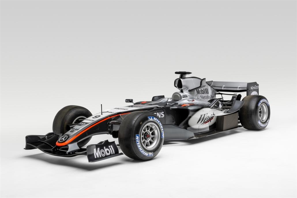 F1 McLaren driven by Kimi Raikkonen. Photo Credit: Petersen Automotive Museum