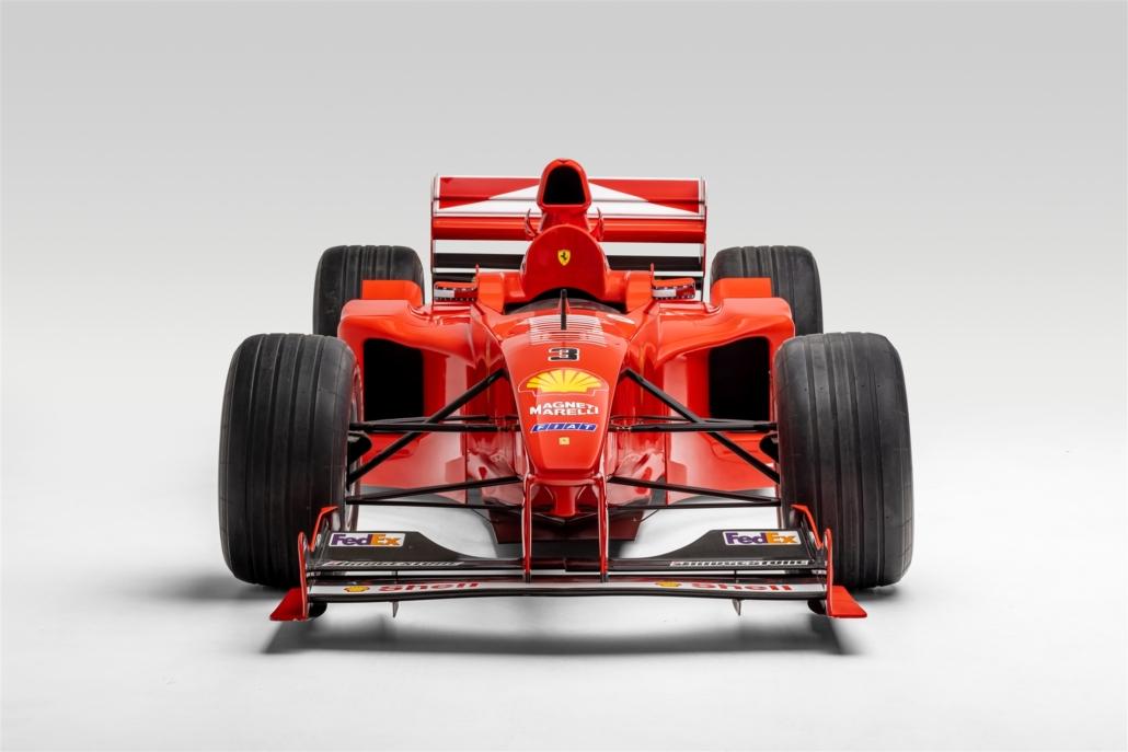 F1 Ferrari driven by Michael Schumacher. Photo Credit: Petersen Automotive Museum