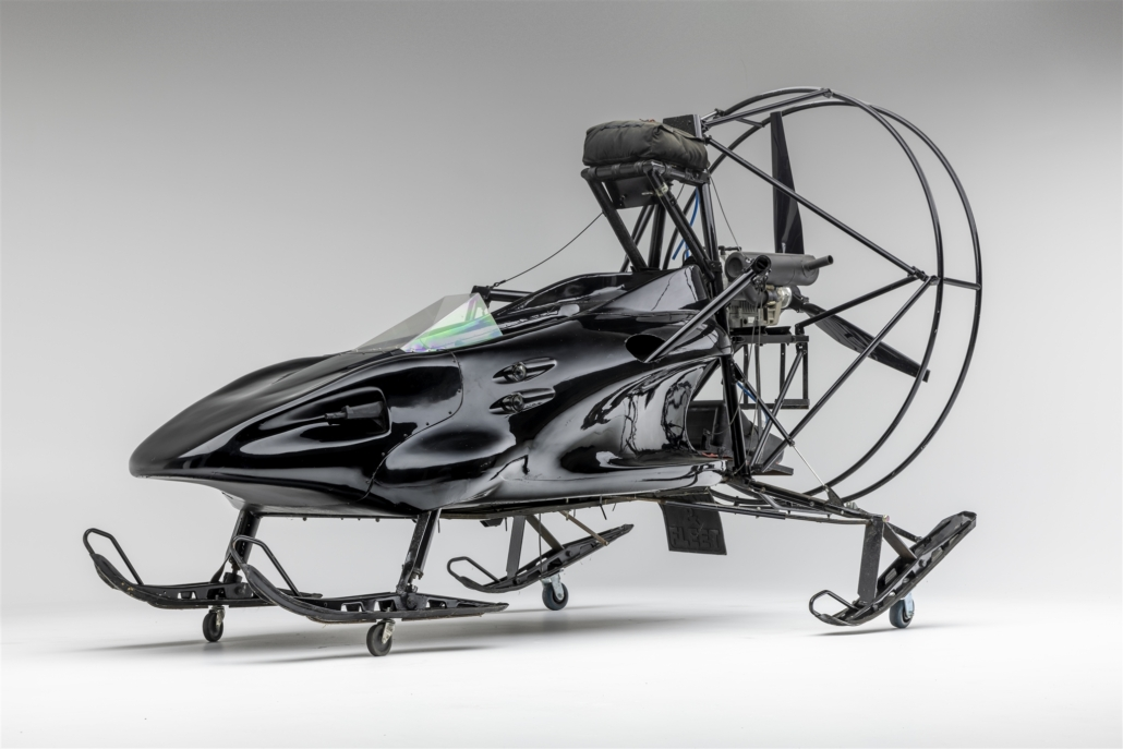 1999 Heron XC-70 ParachuteParahawk from 1999's 'The World is Not Enough.' Photo courtesy of the Petersen Automotive Museum and Ted7