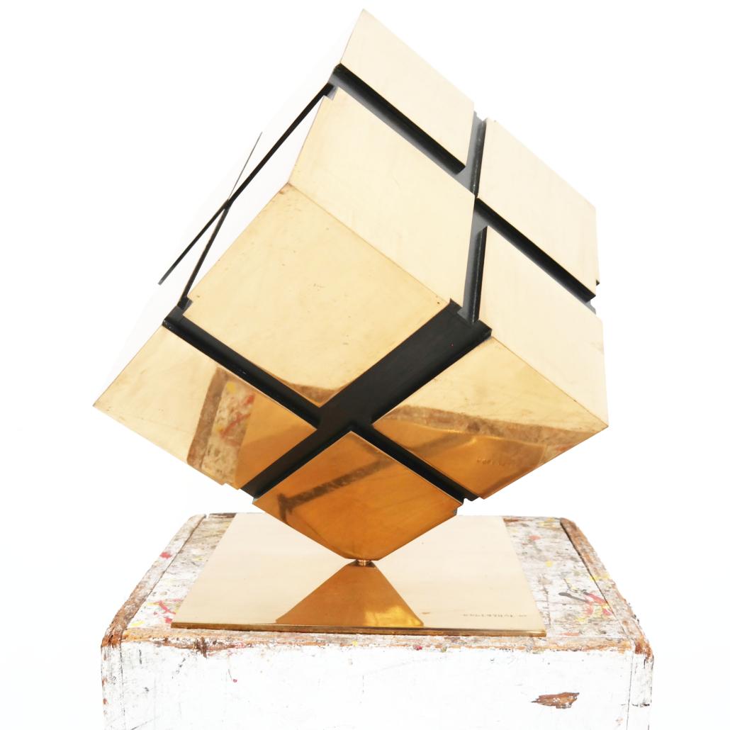 Tony Rosenthal, 'Untitled (Tony Rosenthal's Cube),' $23,750
