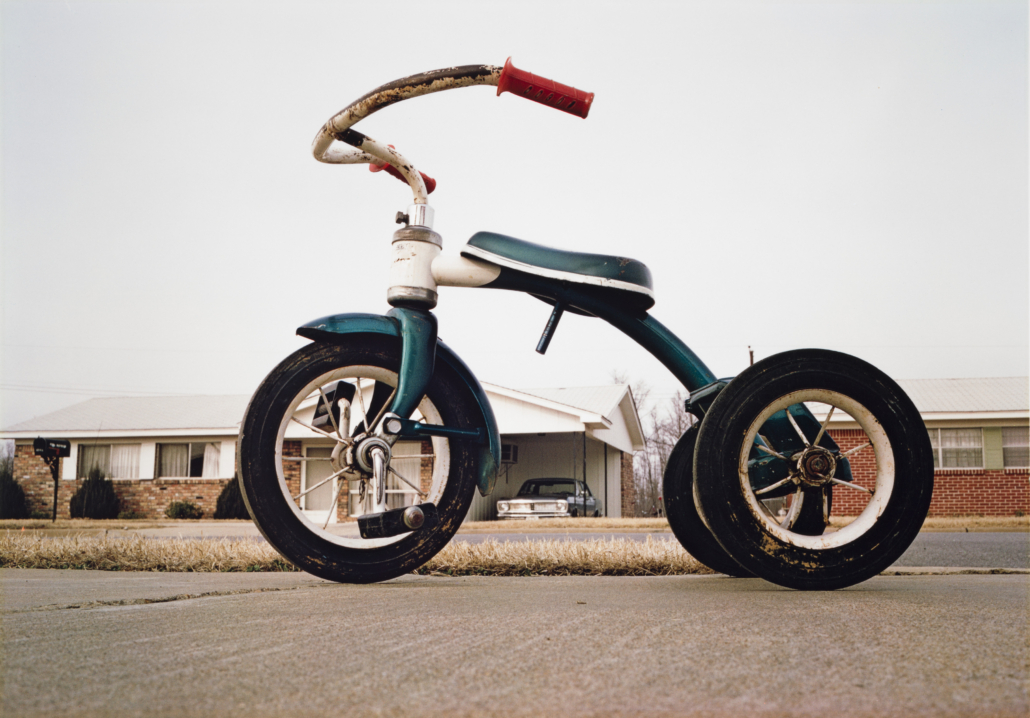 William Eggleston (b. 1939), 'Untitled,' ca. 1970, dye 8. transfer print, Amon Carter Museum of American Art, Fort Worth, Texas, Bequest of Finis Welch, © Eggleston Artistic Trust, Courtesy Eggleston Artistic Trust and David Zwirner