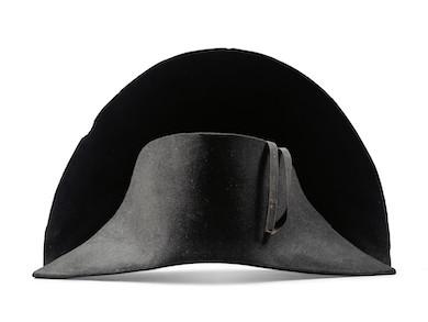 Napoleon-worn bicorne hat slated for October auction