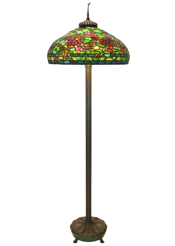Tiffany Studios Nasturtium floor lamp, est. $60,000-$80,000