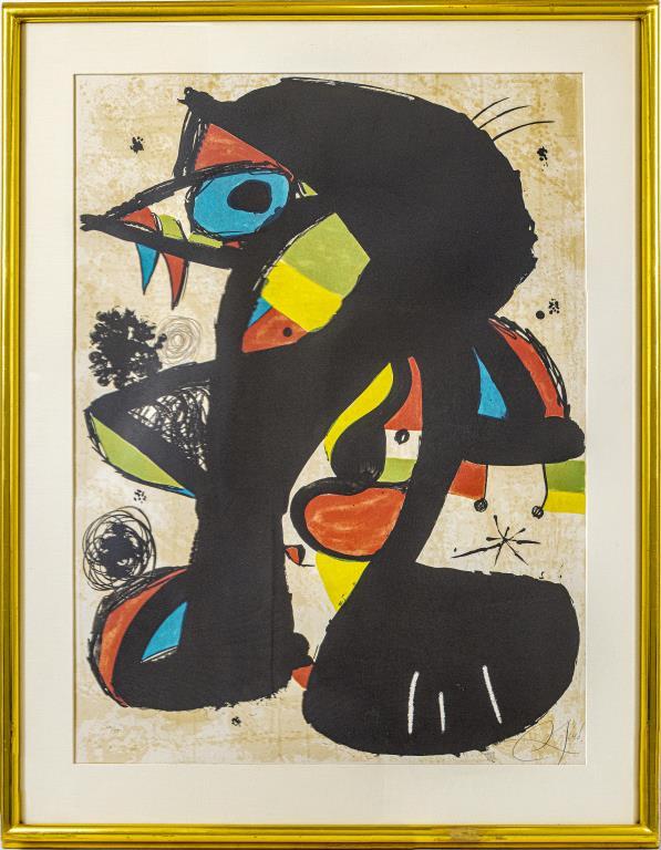 an Miro, 'Incivisa,' $6,000-$8,000