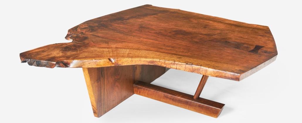 George Nakashima, Minguren II coffee table, est. $20,000-$30,000