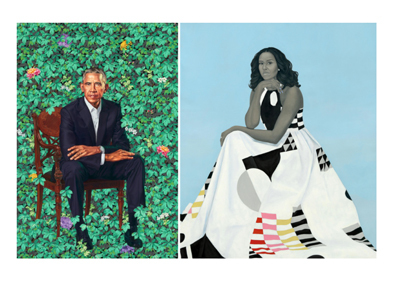 Obama portraits now on view in Brooklyn, with three more stops planned