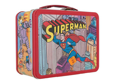 Metal lunchboxes serve up a feast of retro icons