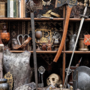Selection of items from the Andrew Crawforth Collection of Early Metalware and Works of Art, which sold at Bonhams September 13. Image courtesy of Bonhams