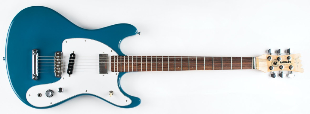 Johnny Ramone's Mark-2 signature guitar, $46,875