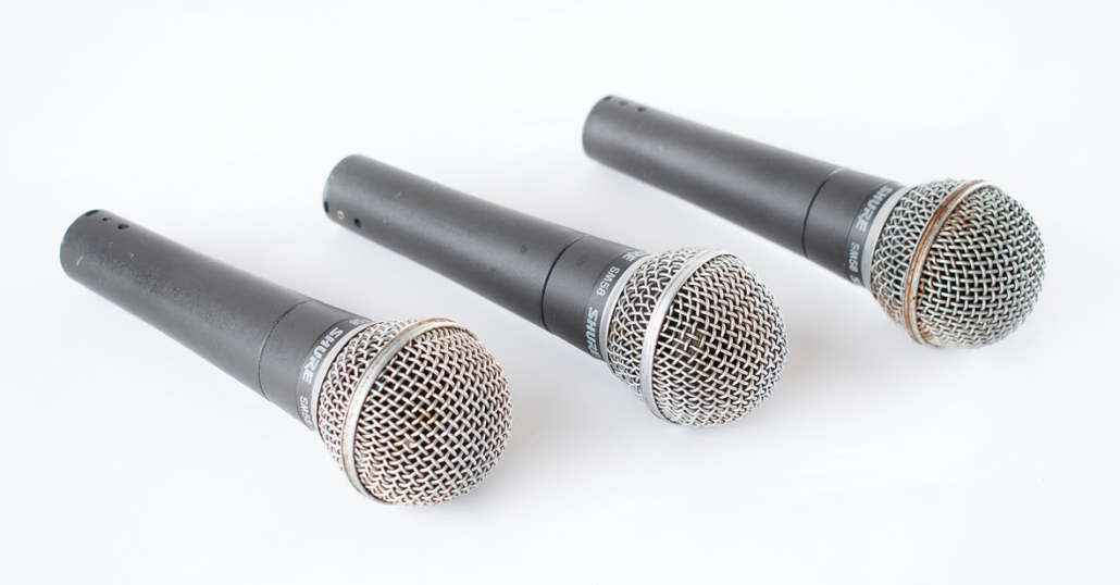Joey Ramone stage-used Shure microphones from the final Ramones concert, $13,125