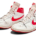 The earliest known Michael Jordan regular season game-worn Nike Air Ships sold for $1.472 million and set records during an October 24 auction in Las Vegas. Image courtesy of Sotheby's