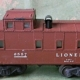 Lionel 1947 limited edition Tuscan red painted caboose, est. $300-$5,000