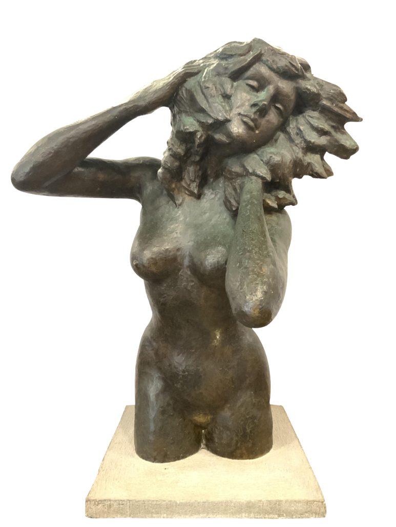 Victor Salmones, 'Woman in the Wind,' est. $2,000-$10,000