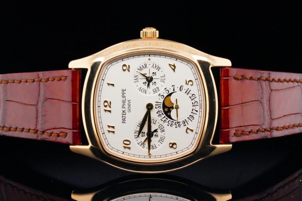 Patek Phillippe Grand Complications 18K automatic timepiece, est. $54,000-$55,000