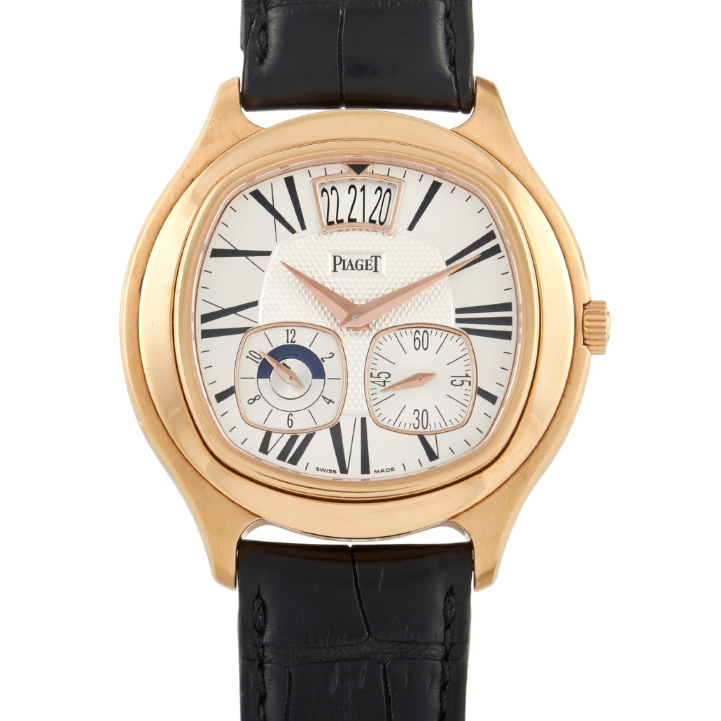 Piaget 18K gold limited edition Emperador Dual Time automatic watch, est. $32,000-$35,000