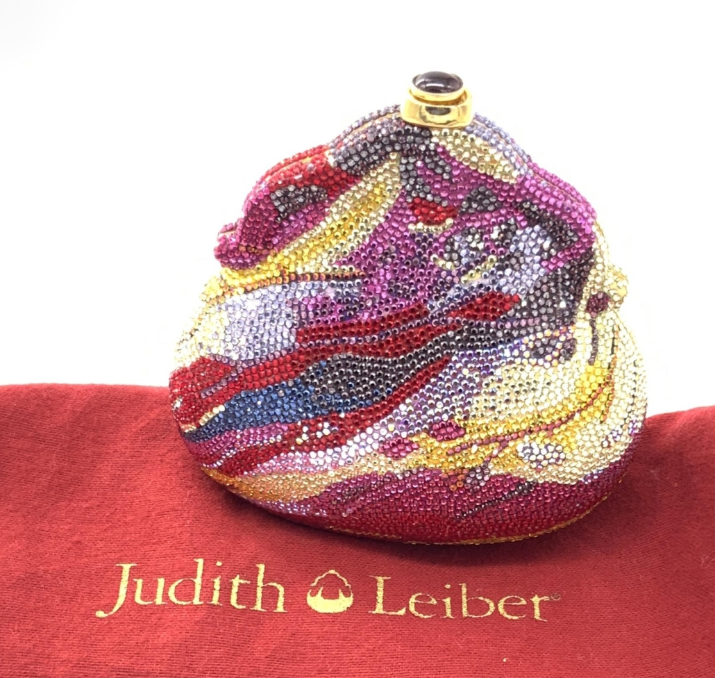Judith Leiber Chatelaine pouch-style minaudiere, est. $1,000-$3,000