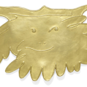 Pablo Picasso, gold Grand Faune pendant, $62,813. Image courtesy of Bonhams