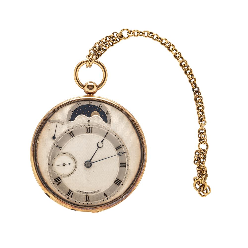 Breguet No. 2835 astronomical quarter-repeating watch, est. $100,000-$150,000. Image courtesy of Skinner, Inc.