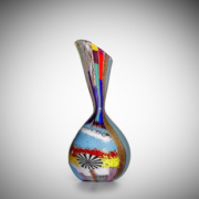 Dino Martens, Unique Anfora Ape vase, 1952, sold for $256,563, a new world record at auction. Image courtesy of Bonhams