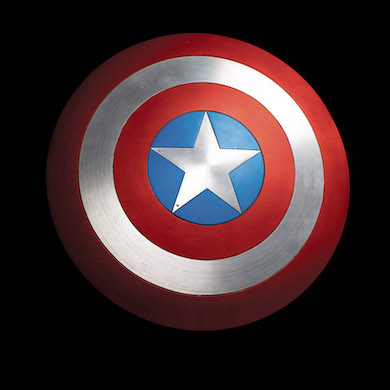 Hake's Nov. 2-3 auction led by Capt. America shield screen-used by Chris Evans