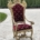 18th-century Italian carved giltwood throne chair, est. $100-$8,000