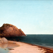 John Frederick Kensett, 'Singing Beach & Eagle Rock, Magnolia, Massachusetts,' $1.08 million