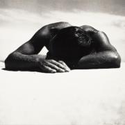 Max Dupain, Sunbaker, silver print, 1937, printed 1970s. Estimate $20,000 to $30,000.