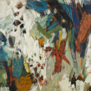 Hale Woodruff, 'Carnival,' sold for $665,000, a record for an abstract work by Woodruff