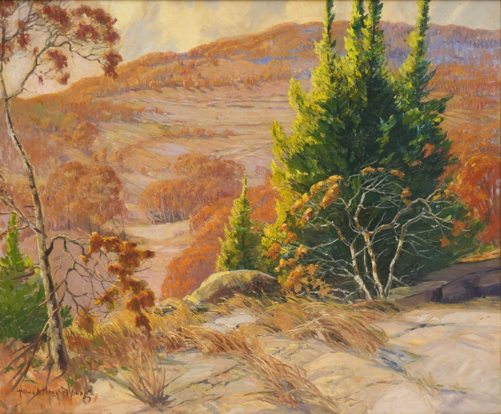 Harry Anthony DeYoung, 'Autumn at Boerne, Texas,' est. $10,000-$15,000